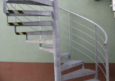 Obr. 19 - Točité schodiště