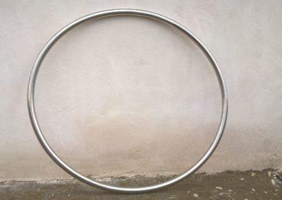 Obr. 22 - Nerezová elipsa vyrobená z kruhové tyče o průměru 30 mm